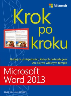 Microsoft Word 2013 Krok po kroku