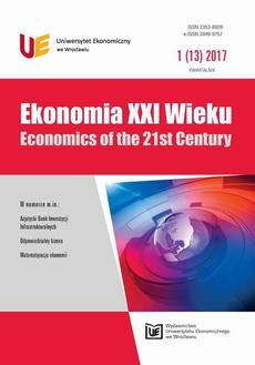 Ekonomia XXI Wieku 1(13)