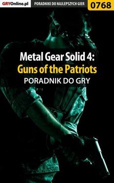Metal Gear Solid 4: Guns of the Patriots - poradnik do gry