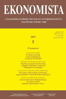 Ekonomista 2015 nr 5