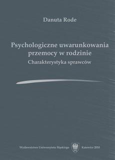 Psychologiczne uwarunkowania przemocy w rodzinie - 06 rozdz 6, Problematyka badań własnych