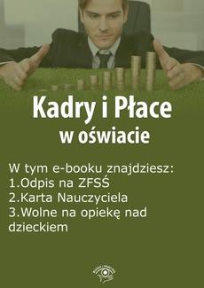 Kadry i Płace w oświacie, wydanie luty 2016 r.