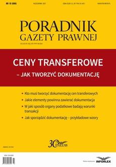 Ceny transferowe Jak twotrzyć dokumentację
