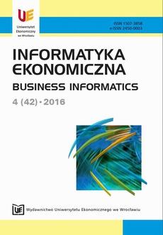 Informatyka Ekonomiczna 4(42)