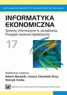 Informatyka ekonomiczna 17. Systemy informacyjne w zarządzaniu. Przegląd naukowo-dydaktyczny