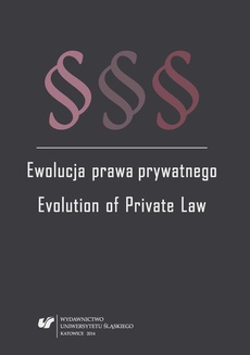 Ewolucja prawa prywatnego - 11 The entrepreneurial legal entity of Private Law: processes of the integration and the differentiation