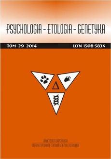 Psychologia-Etologia-Genetyka nr 29/2014 - PTSD i psychospołeczne uwarunkowania nasilenia bólu w przewlekłych zespołach bólowych: przegląd badań
