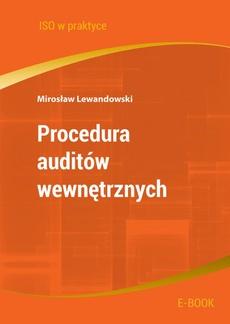 Procedura auditów wewnętrznych - wydanie II