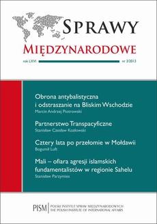 Sprawy Międzynarodowe nr 3/2013