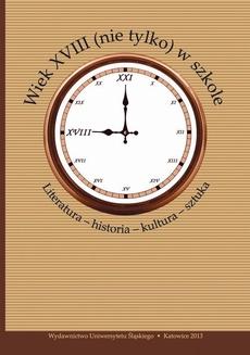 Wiek XVIII (nie tylko) w szkole - 06 Odwołania do świata islamu w poezji Adama Naruszewicza
