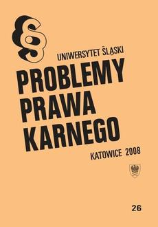 Problemy Prawa Karnego. T. 26 - 06 Problemy kontroli formalnej aktu oskarżenia wniesionego przez oskarżyciela publicznego w polskim procesie karnym