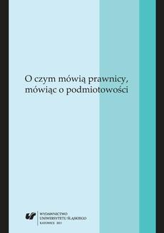 O czym mówią prawnicy, mówiąc o podmiotowości - 19 Pozycja procesowa oskarżyciela publicznego jako podmiotu praw i obowiązków procesowych w wojskowym postępowaniu karnym w Polsce okresu międzywojennego