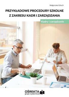 Przykładowe procedury szkolne z zakresu kadr i zarządzania