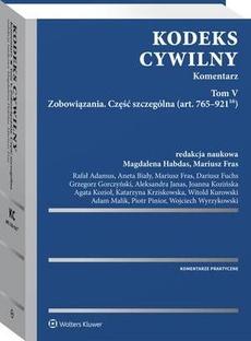 Kodeks cywilny. Komentarz. Tom V