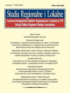Studia Regionalne i Lokalne nr 1(43)/2011