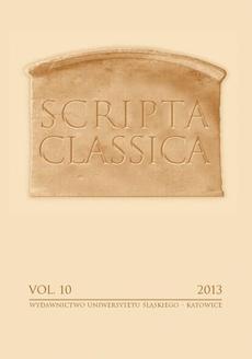 Scripta Classica. Vol. 10 - 02 Homofonia sylabiczna w klasycznej epice rzymskiej