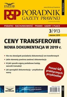 Ceny transferowe - dokumentacja w 2019 r.