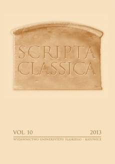 Scripta Classica. Vol. 10