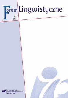 """""""Forum Lingwistyczne"""" 2014, nr 1 - 07 Współczesne zmiany rekcji czasowników jako przejaw stałej tendencji w dziejach polszczyzny (na przykładzie dopełniacza i biernika)"""