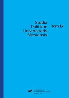 Studia Politicae Universitatis Silesiensis. T. 15 - 02 Rola partii politycznych w redefiniowaniu stosunku przedstawicielskiego