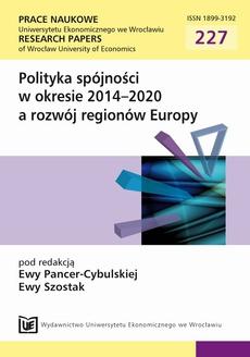 Polityka spójności w okresie 2014-2020 a rozwój regionów Europy