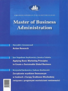 Master of Business Administration - 2010 - 5