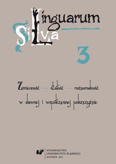 """Linguarum Silva. T. 3: Zmienność - stałość - różnorodność w dawnej i współczesnej polszczyźnie - 08 Profilowanie pojęcia rodzina w serialu """"M jak miłość"""""""