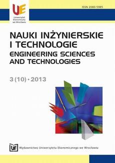 Nauki inżynierskie i technologie 3(10) 2013