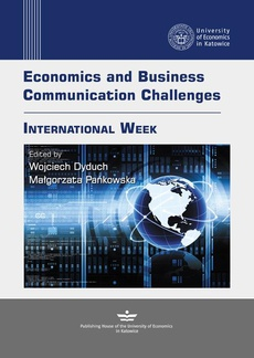 Economics and Business Communication Challenges. International Week