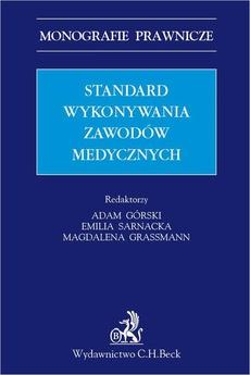 Standard wykonywania zawodów medycznych
