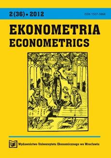 Ekonometria 2(36)