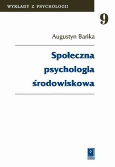 Społeczna psychologia środowiskowa