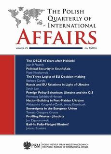 The Polish Quarterly of International Affairs 3/2016