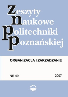 Organizacja i Zarządzanie, 2007/49