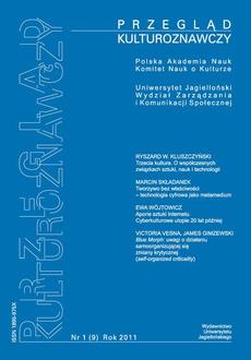Przegląd Kulturoznawczy Nr 1 (9) Rok 2011