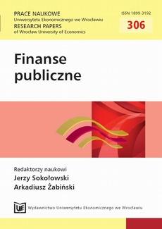 Finanse publiczne. PN 306