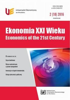Ekonomia XXI Wieku, nr 2(10)
