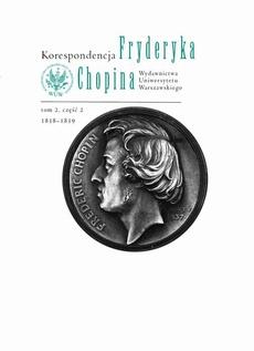 Korespondencja Fryderyka Chopina 1838-1839. Tom 2, część 2