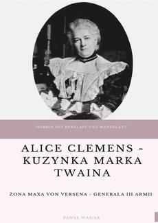 Alice Clemens - kuzynka Marka Twaina
