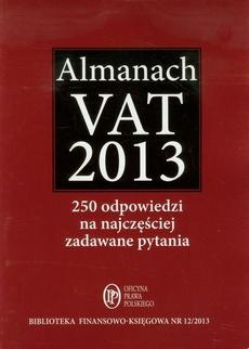 Almanach VAT 2013