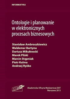 Ontologie i planowanie w elektronicznych procesach biznesowych