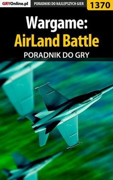 Wargame: AirLand Battle - poradnik do gry