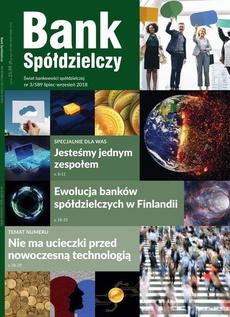 Bank Spółdzielczy 3/589, lipiec-wrzesień 2018 - Ewolucja banków spółdzielczych w Finlandii
