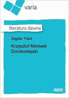 Krzysztof Moniwid Dorohostajski