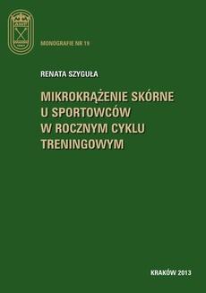 Mikrokrążenie skórne u sportowców w rocznym cyklu treningowym