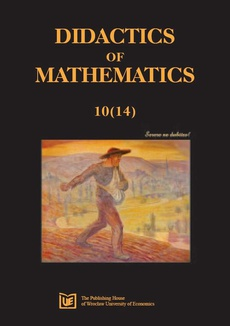 Didactics of Mathematics 10 (14)