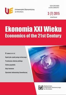 Ekonomia XXI Wieku, nr 3(7)