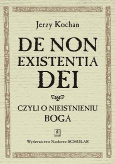 De non existentia Dei czyli o nieistnieniu Boga
