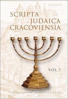 Scripta Judaica Cracoviensia, vol. 7