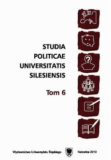 Studia Politicae Universitatis Silesiensis. T. 6 - 08 Recenzje, omówienia, sprawozdania